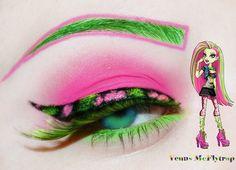 Monster High Birthday, Monster High Party, Monster High Dolls, Monster High Cosplay, Monster High Makeup, Best Eyeshadow, Eyeshadow Makeup, Love Makeup, Makeup Art
