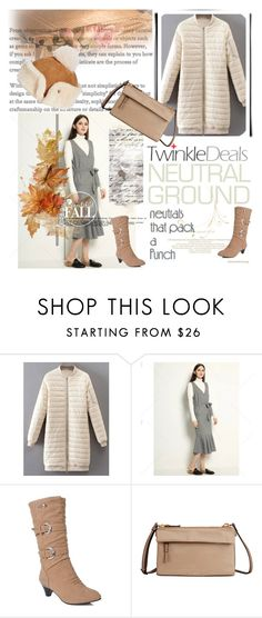 """Cool Neutrals (TD-68)"" by irinavsl ❤ liked on Polyvore featuring Tumi, UGG and neutrals"
