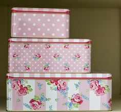 Greengate Boxes by Love taking photos, via Flickr