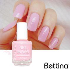 """¡Y seguimos con nuevos colores! De la gama de los """"french"""", compartimos el nuevo color #Bettina """"French Kiss"""". Añádelo hoy a tu colección!!! #NailEnamel #NailPolish #nails"""