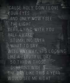 One Day Like This by Elbow