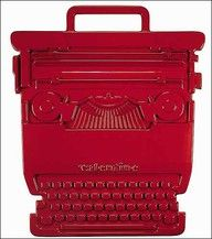 Valentine vintage typewriter