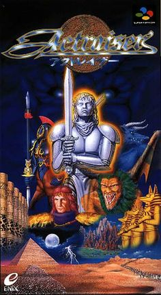 Actraiser - one of my favorite games for the SNES.