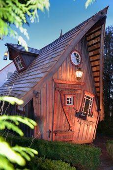 Casa Kaiensis... märchenhafte Holzhäuser