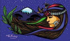 inclusion mapuche - Buscar con Google Arte Latina, Art Folder, Mosaic Madness, Sacred Art, Mural Art, Art Of Living, Wallpaper S, Fiber Art, Printmaking