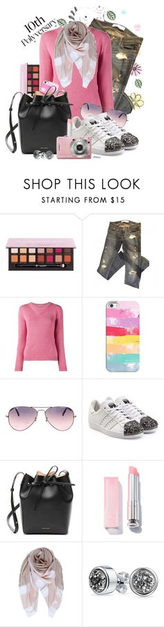 """""""Celebrate Our 10th Polyversary!"""" by cjfdesign ❤ liked on Polyvore featuring Design Element, Abercrombie & Fitch, Miu Miu, Casetify, Ray-Ban, adidas Originals, Mansur Gavriel, Humble Chic, Bling Jewelry and polyversary"""