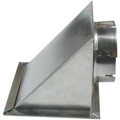 Dryer Eave Vent, Silver