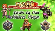 BATALHA DOS CLÃS - OS MELHORES ATAQUES - FACECAM