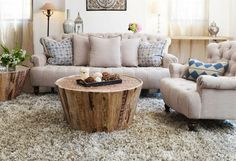 Love that table! Great couches too.