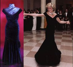 The 79 Diana dresses offered for auction in 1997 complete with descriptions and selling prices.