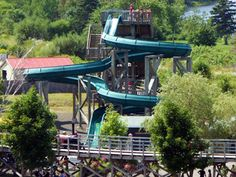 Upper Clements Park, love this water slide
