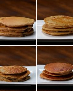 Banana Pancakes 2 large, ripe bananas 2 eggs 1 teaspoon vanilla extract 1 teaspoon cinnamon