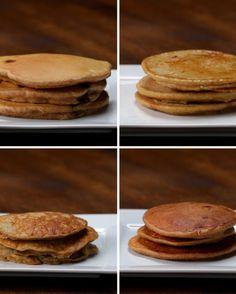 Nutritious Pancakes 4 Ways | Nutritious Pancakes 4 Ways
