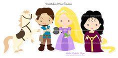Varetinhas Mini Cenário_Kit Enrolados/ Rapunzel | Flickr: Intercambio de fotos