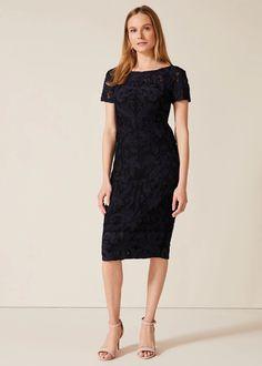 Womens Phase Eight Black Anette Tapework Dress - Black Cheap Bridal Dresses, Wedding Dress Prices, Lovely Dresses, Dresses For Work, I Dress, Lace Dress, Phase Eight Dresses, Fit Flare Dress, Special Occasion Dresses