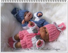 Shorts & Jacket Set 14 inch 'Lots to Love' Berenguer doll-berenguer, knitting pattern, lots to love, bathtime babies