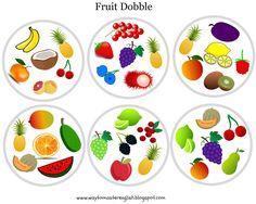 Dzisiejszy wpis jest kontynuacją wczorajszego, owocowego , wpisu , z którego mogliście, i wciąż możecie, pobrać fruit flashcards i bingo ....