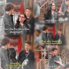 I like how Josh did not react to Smackle's comment to Farkle, which was:He's Maya's Boing!!!! Joshaya FOREVER Ski Lodge part 1 :GMW