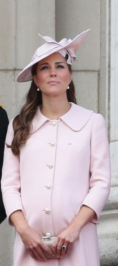15 June 13.   Kate Middleton - Queen Elizabeth II's Birthday Parade: Trooping The Colour