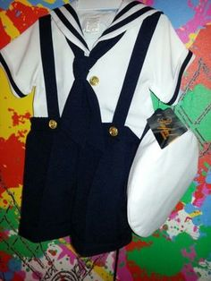 Salior suit so cute size 22 months.and 24 months in Lake Elsinore, CA (sells for $32.99)