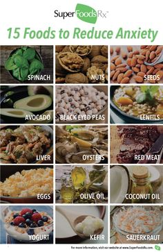 Nutritional Tricks for Easing Anxiety. Learn nutritional tricks for easing anxiety and finding freedom. You will be amazed at what important vitamins, minerals and fatty acids can do for your mind. Sauerkraut, Kefir, Superfoods, Lentils, Oysters, Coconut Oil, Spinach, Anxiety, Vitamins
