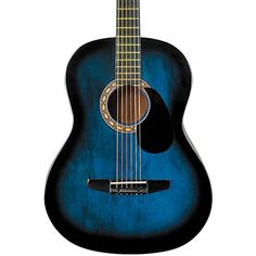 Rogue Starter Acoustic Guitar Blue Burst * See this great product.Note:It is affiliate link to Amazon.