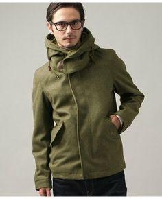 Short mods coat for men / ShopStyle(ショップスタイル): [UNITED ARROWS green label relaxing]*★★LT/MLTN ショートモッズコート - shopstyle.co.jp