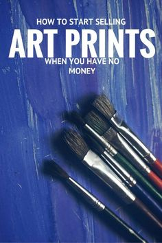 How to Sell Art Prints