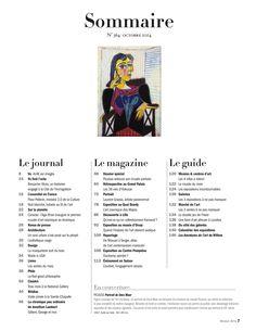 Beaux arts - sommaire 364 - octobre 2014