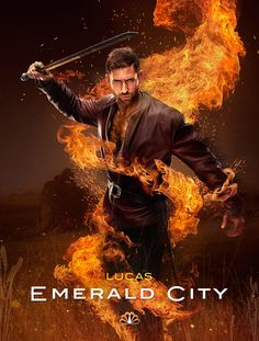 Oliver Jackson-Cohen gets fiery as Lucas (Emerald City) #EmeraldCity
