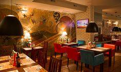 Projekt wnętrza restauracji ElGlobo w Szczecinie