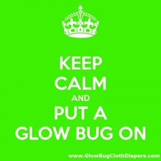 Enter To Win Glow Bug Cloth Diapers