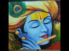 Kerala Mural Painting, Buddha Painting, Krishna Painting, Indian Art Paintings, Buddha Art, Krishna Drawing, Arte Krishna, Lord Krishna, Krishna Mantra