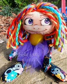 Jinx by Scribble Dolls, via Flickr