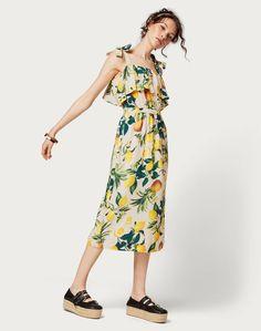 Kleid mit Volant 'Juliana'