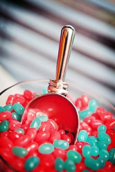 Ask about a candy bar! Keep your guests of all ages happy! Photo Credit Bellagala