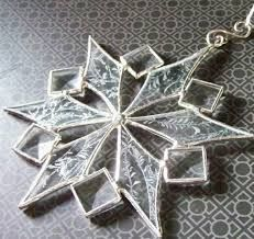 Image result for snowflake stained glass