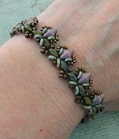 Linda's Crafty Inspirations: Birthday Bracelet 6 - Honeysuckle Bracelet