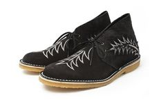 Sasquatch Cactus desert boot giving the White Mountaineering one competition.