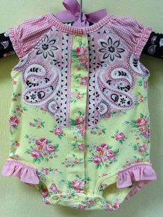 Western Cowgirl baby onesie - this is the cutest thing I've ever seen!