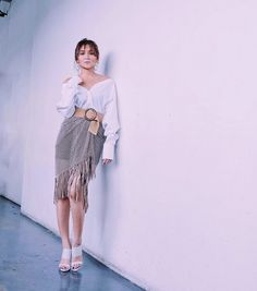 Kathryn Bernardo Outfits, Filipina Actress, Beautiful Inside And Out, Business Attire, Girl Crushes, Asian Beauty, Stylists, Ford, Ballet Skirt