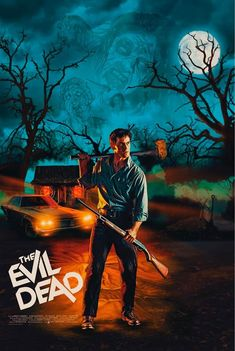 Free Horror Movies, Scary Movies, Comedy Movies, Cult Movies, Horror Movie Posters, Movie Poster Art, Film Posters, Evil Dead Movies, Ash Evil Dead