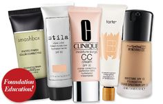 BB Creams, CC Creams, DD Creams, and Foundation: Here's everything you need to know about these products!