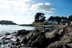 crabbing on the Helford River