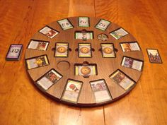 Rotating Dominion game tray