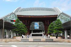 Entrée principale de la gare de Kanazawa