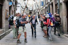 El Camino de Santiago, Spain