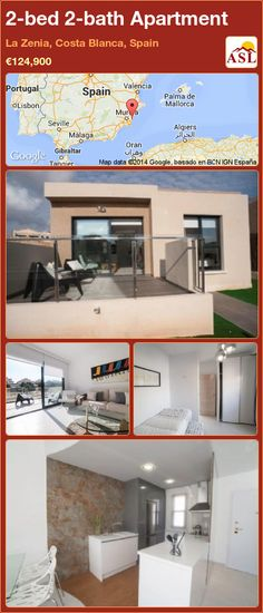 2-bed 2-bath Apartment in La Zenia, Costa Blanca, Spain ►€124,900 #PropertyForSaleInSpain