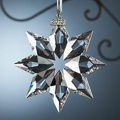 LENOX Ornaments: Snowflakes & Snowmen - 2013 Swarovski Snowflake Ornament