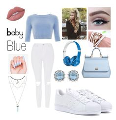 """""""Valentines date"""" by mineangel ❤ liked on Polyvore featuring Collectif, Dolce&Gabbana, Topshop, adidas, Beats by Dr. Dre and Lime Crime"""